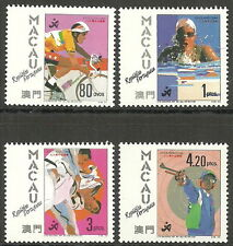Macao-Asia giochi, Pechino frase posta fresco 1990 MER. 653-656