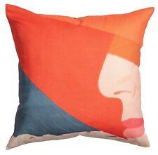 ALEX KATZ x H&M 'Orange Hat (Ada)' 1990/2016 Pillow / Cushion COVER 20x20 *NWT*