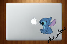 Macbook Air Pro Vinyl Skin Sticker Decal Cute Alien Watching Apple CMAC014