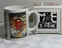 ME Ink Mary Engelbreit You'd Better Not Pout MUG Coffee Cup with Box Christmas