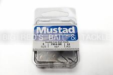 Mustad  Sz 6 7904 Classic Double Live Bait/Liver Hook W/ Extra Long Shank NEW