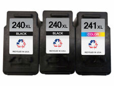 3 Canon PG-240XL & CL-241XL Ink Cartridges for Pixma MG2120 MG2220 MG3120