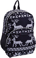 ROCKETDOG Womens Girls Fair isle Nordic Backpack Cross Body Shopper Bags Xmas UK