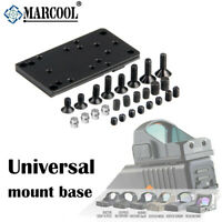Universal Sight Mount Base Plate for RMR Red Dot Sight Pistol Glock MOS Airsoft