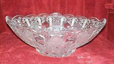Gorham Full Lead Crystal Centerpiece Bowl