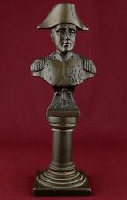 Great French commander Napoleon Bonaparte bronze bust sculpture statue