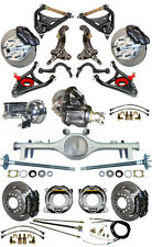 NEW SUSPENSION & WILWOOD BRAKE SET W/ SPINDLES,ARMS,CURRIE REAR END,POSI,687261