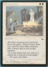 Martyr's Cry The Dark NM White Rare MAGIC GATHERING CARD (ID# 162855) ABUGames