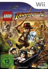 Nintendo Wii LEGO Indiana Jones 2 le nuove avventure tedesco come nuovo