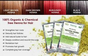 100% Herbal ALLIN Henna Hair Color – 100% Organic Chemical free Hair Dye Shiny