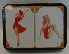 Varga Girls - Playing Cards - 2 Decks of Cards in Tin