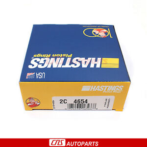 Hastings Piston Rings Fits 90-99 Honda Accord Isuzu Oasis 2.2L L4 SOHC F22A F22B