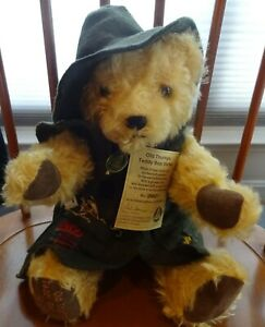Hermann Mohair Old Thuringia Teddy Bear #035 of 1200