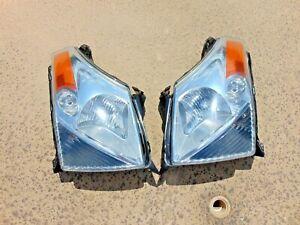 07-09 Suzuki XL-7 Headlight Lamp Assemblies w/ Restored Lenses LH & RH Tested