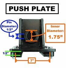 "Ruggedmade LOG SPLITTER Push Plate - 1.75"" ID Rod Sleeve, 1/2"" Bolt Hole"