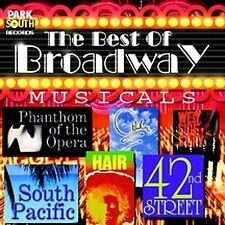 Various Artists : Best of Broadway Musicals CD