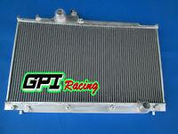 2 row for Lexus IS300 Manual 2001-2005 2002 2003 2004 MT Aluminum Radiator
