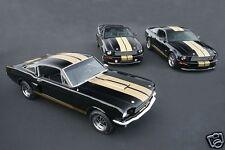 1966 & 2006 Ford SHELBY GT, HERTZ, 3 Cars, Refrigerator Magnet, 40 MIL