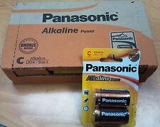 24 X pila alcalina C Lr14 1 5V Panasonic Alkaline Power L AM2 Mn1400