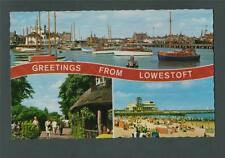 LOWESTOFT. Multi-View  postcard ac50