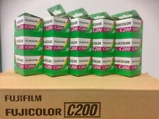 15 x Rolls of Fuji C200 35mm Print Film. C41 Process. Expiry date 02/2018
