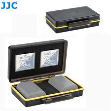 JJC 2 Camera Battery & 3 CF Memory Card Case Holder fr Canon Sony Nikon Fujifilm