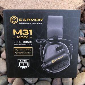 OPSMEN Earmor M31 MOD1 Electronic Hearing Protector NRR22 Coyote Brown NIB