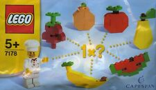 LEGO Capespan #7178 - Minifigure / Figurine - Chef - NEUF / NEW - RARE - Sealed