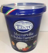 Buffalo Mozzarella Cheese 1kg . Drained 500g Italian Full Fat Soft Cheese