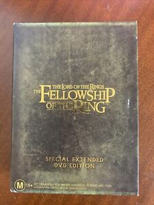 The Lord Of The Rings Special Extended Edition Trilogy DVD Box Set Movie