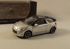 Citroën DS3 Cabrio Grise claire - Collection 3 Inches - Norev