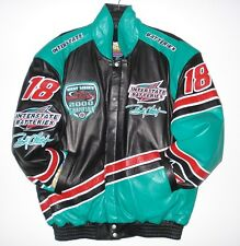 Nascar Interstate Batteries Lambskin Champion Leather Hand made Jacket XL