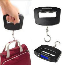 Portable 50KG LCD Digital Fish Hanging Luggage Weight Electronic Hook Scales