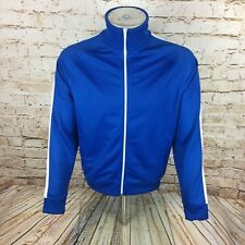 Fred Perry Tracksuit Jacket Track Top Blue Sz Medium / M Mens