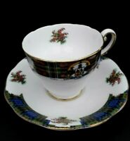 Vintage  China  cup and saucer Royal Standard Bonnie Scotland design