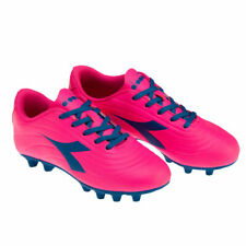 Diadora Pichichi 2 MD Jr. Soccer Cleats NEW Youth 1Y Pink/Blue FREE SHIPPING