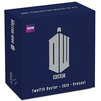 2015 Niue Dr Doctor Who Twelfth Doctor $1 One Dollar Silver Proof Coin Box Coa