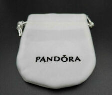 PANDORA JEWELLERY VELVET POUCH IN WHITE