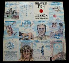 JOHN LENNON AND THE PLASTIC ONO BAND  LP   Shaved fish  UK VINYL LP 1U 2 MATRIX