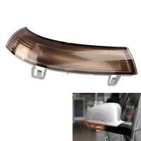 Smoke Left Wing Mirror Indicator Turn Signal light For VW Golf Jetta MK5 Passat