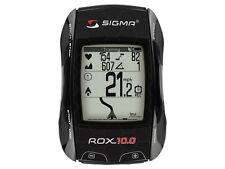 Sigma Bicycle ROX 10.0 Black GPS Computer Set With Ant + Sensors Bike