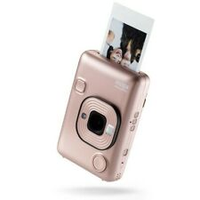 Fuji INSTAX MINI LiPlay Camera & Printer - Blush Gold
