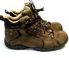 RARE OAKLEY FLAK BOOTS Size 11.5 Brown Leather Waterproof Tactical Field Gear