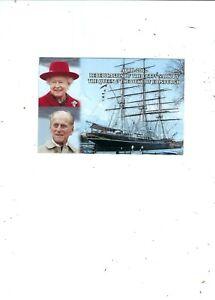 POSTCARD 2012  REDEDICATION OF CUTTY SARK BY H M QUEEN &DUKE OF EDINBURGH