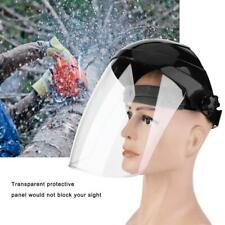 FULL FACE SHIELD CLEAR FLIP UP VISOR EYE PROTECTION MASK SAFETY WORK GUARD NEW