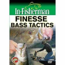 "In-Fisherman Fishing Dvd Video 2009 11D ""Finesse Bass Tactics"""