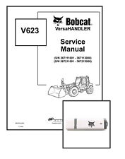 Bobcat V623 VersaHANDLER Workshop Repair Service Manual 6901675 USB + Download