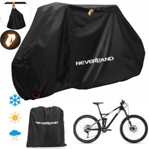 Large Waterproof Cycle Bicycle Bike Cover Rain Resistant Dust Prote Universal FA