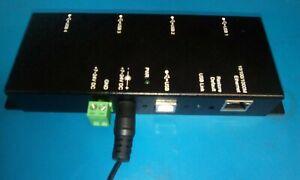 Antaira UTE-404K 4-Port USB2.0 to Gigabit Ethernet Server