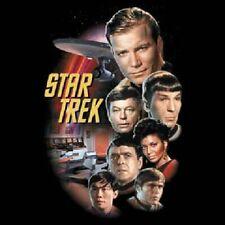 Star Trek Classic TV Crew, Bridge and Enterprise Stacked size 3X T-Shirt NEW